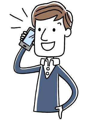 お電話にて、お仕事の内容/来て欲しい曜日・時間帯を教えて頂き、料金や手数料の説明を致します。